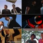 Tarantino și cadrul portbagaj foarte discret din Django