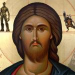 Chipul lui Arsenie Boca a apărut pe o icoană cu Iisus
