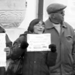 Protestatarii de la mitingul PSD au forțat cordonul de jandarm