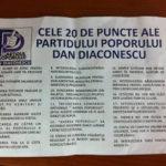 Dan Dictatorinescu și Partidul Poporului