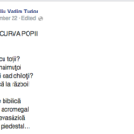 Mr. Pîrț și curva popii, o poezie scrisă de CVT pentru VVP